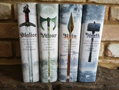 John Gwynne Faithfull and the Fallen hardback collection (1-3 are 1st edition)