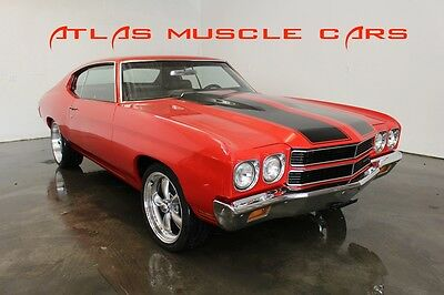 1970 Chevrolet Chevelle 1970 Chevelle GM crate engine auto trans disc brak 1970 Chevelle GM crate 350 auto transmission PS power disc brakes