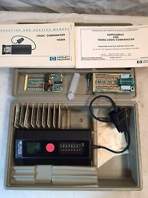 Hewlett Packard HP Logic Comparator Kit 10529A - US Coast Guard Owned