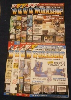 Model Engineers Workshop Magazine Complete Issues 181 to 190 Oct 2011- June 2012