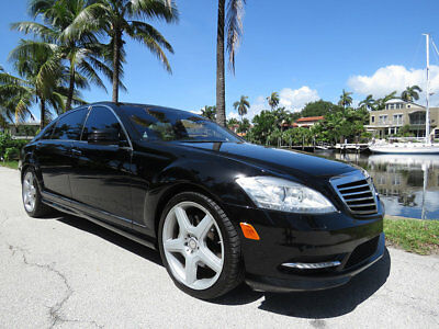2013 Mercedes-Benz S-Class S550 2013 Mercedes Benz S550 Pano Roof Massage Seats Absolutely No Hurricane Damage