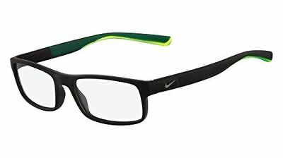 b21e3e07e262 EYEGLASSES NIKE 7090 018 MATTE BLACK CRYSTAL PHOTO BLUE -  93.79 ...
