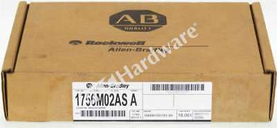 New Sealed Allen Bradley 1756-M02AS /A ControlLogix 2 Axis Analog/SSI Servo