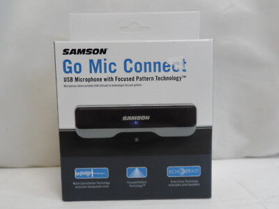 Samson Go Mic Connect USB Microphone with Focused Pattern Technology Silver