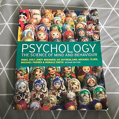 psychology the science of the mind Find great deals for psychology: the science of mind and behaviour by richard  gross (paperback, 2015) shop with confidence on ebay.