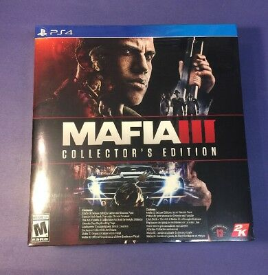 Mafia III [ Collector's Edition / Mafia 3  ] (PS4) NEW