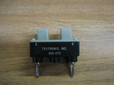 Tektronix Model 013-072 Axial Lead Diode Test Fixture In Vgc Curve Tracer