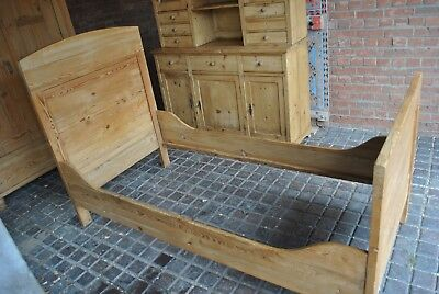 Antique Pine Single Bed