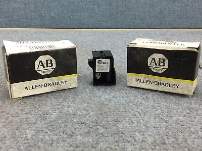 Allen-Bradley 1495-N9 Auxiliary Contact 1 N.C. Type 3; Lot of 2