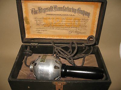 Antique Star-Rite Electric Vibrator by Fitzgerald Mfg Co 1920's w/Box