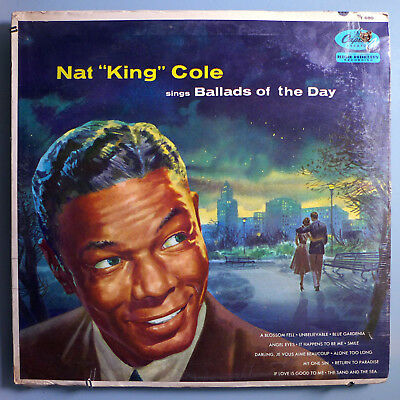 Nat King Cole~Ballads Of The Day~Very Rare Still Sealed 1956 Capitol Mono Lp