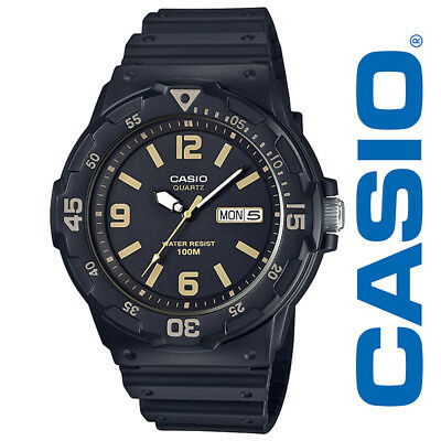 NEW Casio Men's 'Classic' Quartz Resin Casual Watch, Color: Black