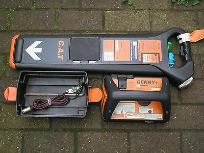 cat mk2 radiodetection cable locator genny leads avoidance scanner tidy faulty