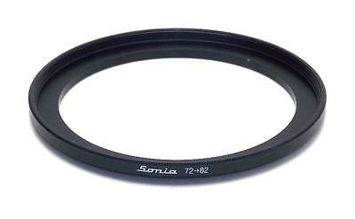 Metal Step up ring 72mm to 82mm 72-82 Sonia New Adapter
