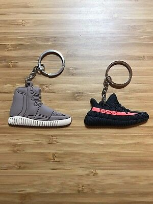 946d1dceb ADIDAS BOOST 750   350 Red Stripe V2 Ye Pack Sneaker Keychain ...