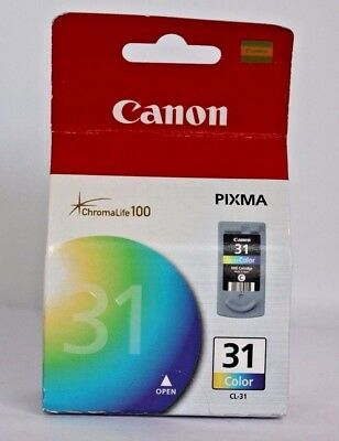 Canon CL31 CL31 (CL-31) Ink  Tri-Color. NEW SEALED.