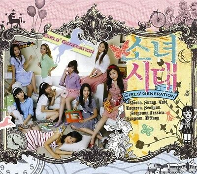 SNSD GIRLS' GENERATION [INTO THE NEW WORLD] 1st Single Album CD+PhotoBook SEALED