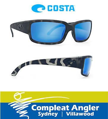 Costa Del Mar Ocearch Caballito Tiger Shark 580G Blue Mirror BRAND NEW At Comple