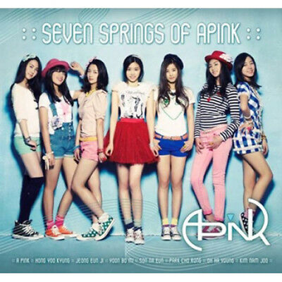 APINK [SEVEN SPRINGS OF APINK] 1st Mini Album CD+Photo Book K-POP SEALED