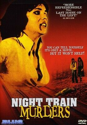 Night Train Murders (2004, DVD NUEVO) (REGION 0)