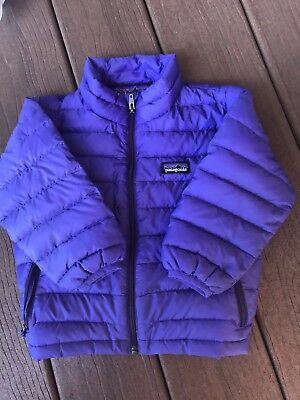 Patagonia Toddler Down Sweater Jacket Purple 2T
