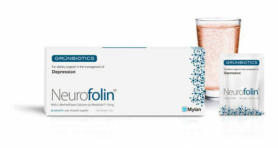 Neurofolin L-Methylfolate Calcium 15mg 1 MONTH AIDS DEPRESSION : AS SEEN ON TV