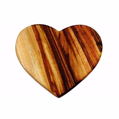 Beautiful Handcrafted Love Heart Shaped Chopping Board - Camphor Laurel Timber