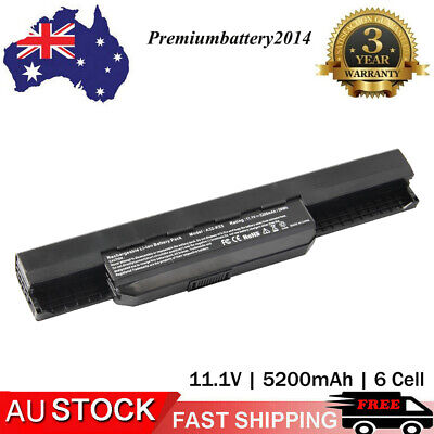 6/9 Cell Battery Pack A32-K53 A41-K53 for Asus K53 K53E X54C X53S X53 K53S X53E