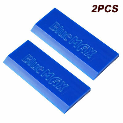Blue Rubber Squeegee Window Tint Installation Vinyl Wrap Tools NO SCRATCH US