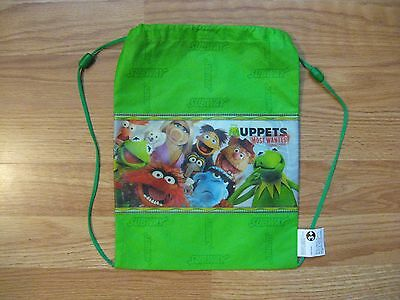 MUPPETS String Bag Backpack SUBWAY Disney MUPPETS MOST WANTED *NEW*