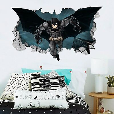 3D Cool Batman 3317 Wall Murals Wall Stickers Decal Breakthrough AJ WALLPAPER AU