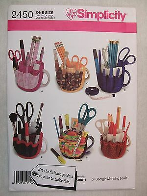 Mug Cup Covers Organizers Sewing Pattern 2450 S See Full Listing Info