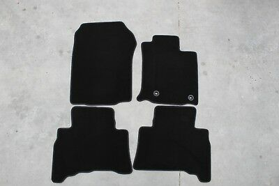 TOYOTA Prado 2013 - Current - Black Car Mat- Full Set - CLEARANCE - CL575