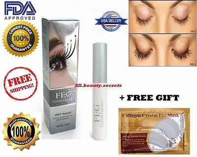 FEG Eyelash Enhancer Rapid Growth Serum 100%Authentic~USA Seller ~Fast Ship+Gift