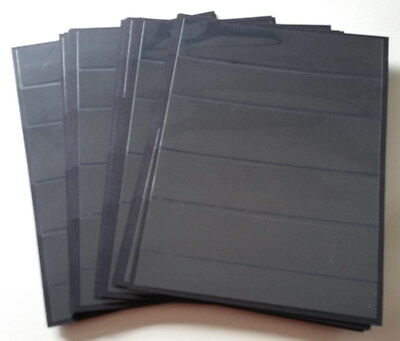 20 x 6 Row Black single sided sheets Only 20c/sheet