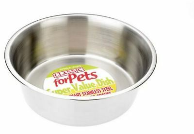 Classic For Pets CLASSIC Value Stainless Steel Dish