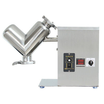 New Version ~ VH-2 Mini V Type Powder Mixer Granule Mixing Machine Blender 2L