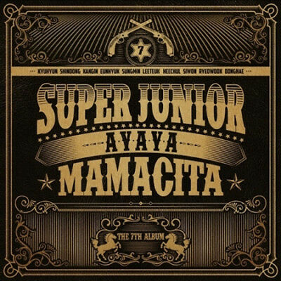 SUPER JUNIOR [MAMACITA] 7th Album A Ver CD+Booklet+Photocard K-POP SEALED