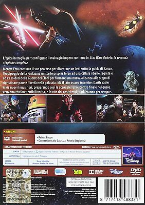 Star Wars Rebels - Stagione 02 4 DVD 12 EURO NUOVO