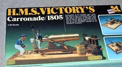 Artesania Latina HMS Victory's Carronade 1805 model kit 1/30 scale  (42)