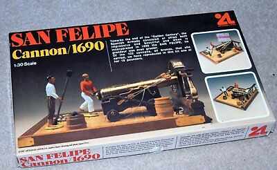 Artesania Latina San Felipe Cannon 1690 model kit 1/30 scale  (43)