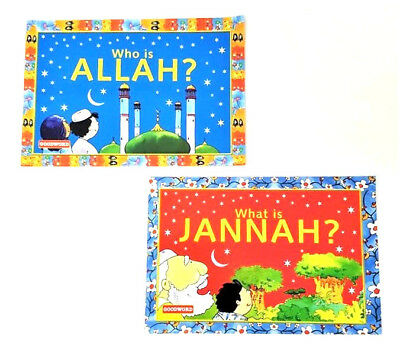 Who  is Allah / What is Jannah - 2 Books (Paperback - Goodword)