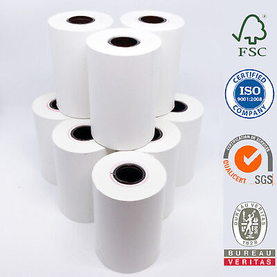 10/50/100/150/200 Rolls 57x38mm Eftpos Rolls Thermal Paper Cash Register Rolls