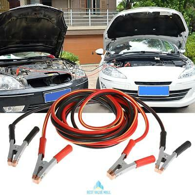 2000 Amp Heavy Duty Battery Jump Leads 5 Metre Long Booster Cables Car Van Truck
