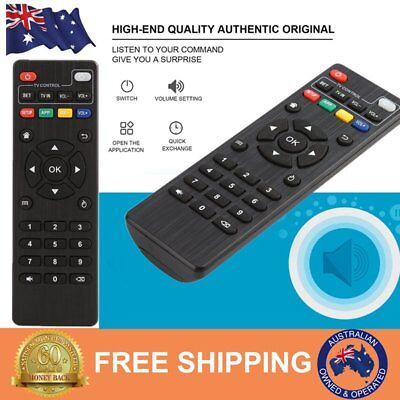 Replacement Remote Control for Android Smart TV Box MXQ Pro 4K MXQ/M8N series AU