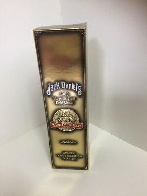 Jack Daniel's RARE 1905 Liege Belgium Gold Medal Limited Edition 750ml