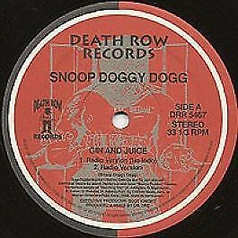 """12"""": Snoop Dogg - Gin And Juice - Death Row Records - DRR 5467"""