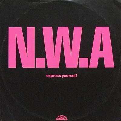 """12"""": N.W.A. - Express Yourself - 4th & Broadway - 12 BRW 144, Ruthless Records -"""