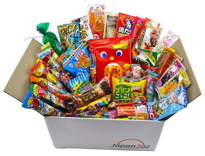 NEW! 75 PIECE JAPANESE CANDY SET SEPTEMBER Box Sweets FREE AIRMAIL & TRACKING