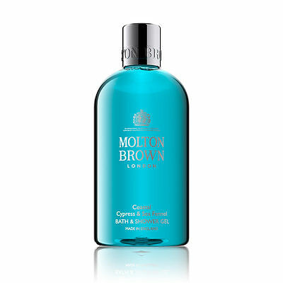 Molton Brown Coastal Cypress & Sea Fennel Bath & Shower Gel - 300ml - NEW